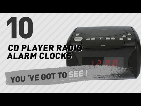Cd Player Radio Alarm Clocks // New & Popular 2017