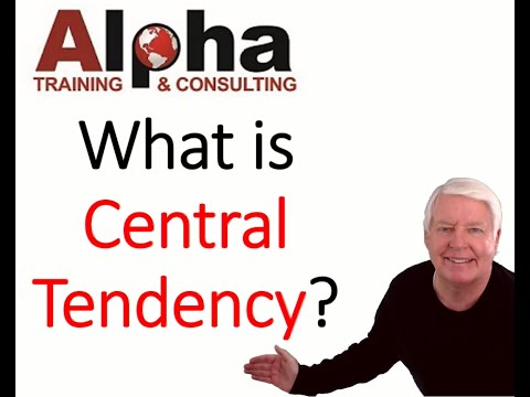 What is Central Tendency (Alpha's ASQ certification preparation ...