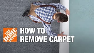 How to Remove Carpet | DIY Carpet Removal