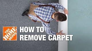 How to Remove Carpet | DIY Carpet Removal