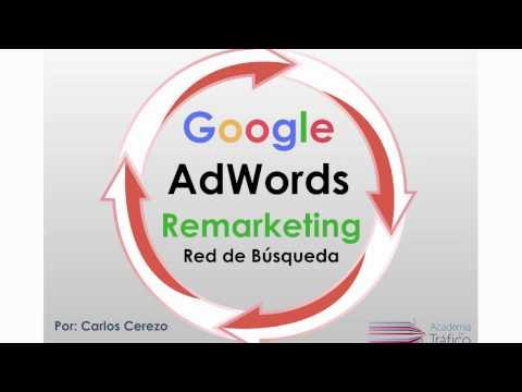 Webinar  Remarketing Red de Búsqueda