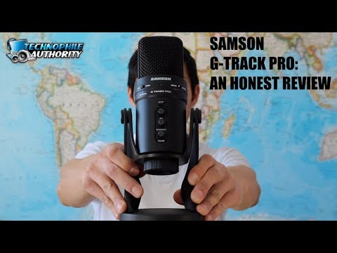 Samson G-Track Pro USB Microphone: An Honest Review (2018)