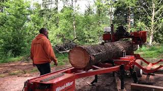 LT70 Super Hydraulic Portable Sawmill in Action | Wood-Mizer