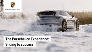 The Porsche Ice Experience: pure as a drift in snow