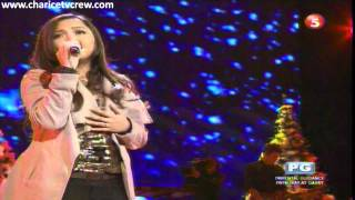 Charice,My Grown Up Christmas List, Christmas Concert,Resorts World (Dec_2_2011)