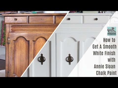 How To Get A Smooth White Finish With Annie Sloan Chalk Paint Mp3