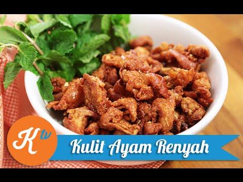 Video Resep Kulit Ayam Goreng Renyah (Crispy Chicken Skin Recipe Video) | ADE PUTRI