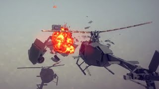 Two OH-58 Vs Armored Fighting Vehicle | Besiege