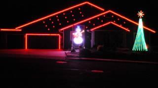 Rockin Round the Christmas tree - Flagstaff Christmas Light Show 2014