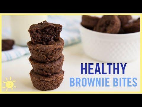 EAT | Brownie Bites (with a Secret, Healthy Ingredient)