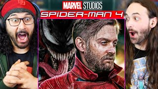 SPIDER-MAN 4 TOBEY MAGUIRE VENOM SET UP?! Easter Eggs & Clues - REACTION!! (Let There Be Carnage) by The Reel Rejects