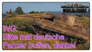 WG: Bitte mal deutsche Panzer buffen, danke!