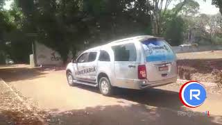 TAXISTA PELÉ - agredido na Rodoviária de Alta Floresta Chega no Cemitério Jardim da Saudade