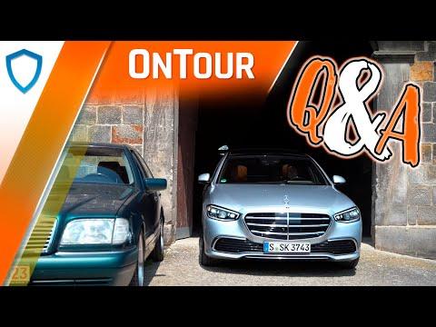 OnTour mit Alex & Tim - Eure Fragen zur neuen Mercedes S-Klasse!