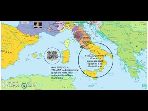 Gli Stati Europei tra XVI e XVII secolo - Parte 1