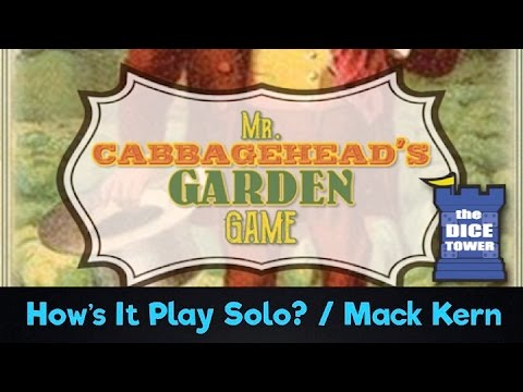 Mr. Cabbagehead's Garden
