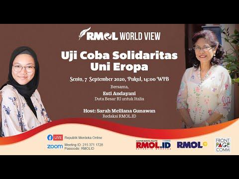 RMOL WORLD VIEW - Uji Coba Solidaritas Uni Eropa