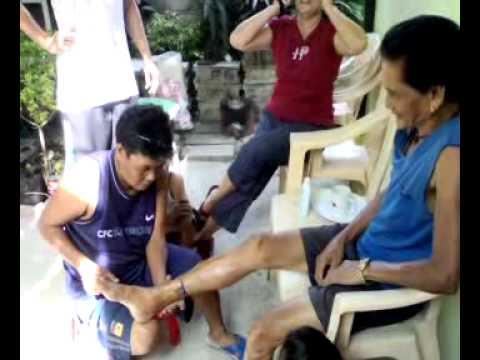 Tanso sulpate sa paggamot sa isang halamang-singaw sa kanyang mga paa