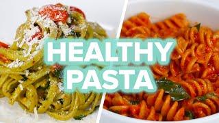 Healthier Pasta 4 Ways