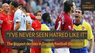 What was it like to play in some of the biggest derbies in English football?