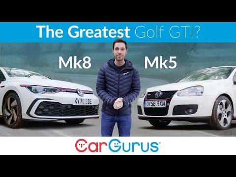 VW Golf GTI grudge match: mk8 vs mk5 – and the winner is... | CarGurus UK