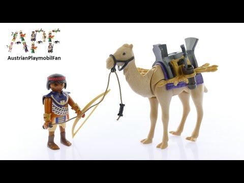 Vidéo PLAYMOBIL History 5389 : Combattant égyptien avec dromadaire