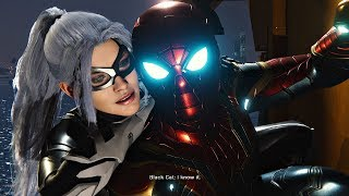 Spider-Man PS4 Black Cat DLC ENDING (The Heist DLC) Spiderman 2018 PS4 Pro