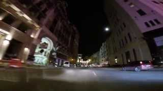 preview picture of video 'Calea Victoriei at night - Bucharest Tour'