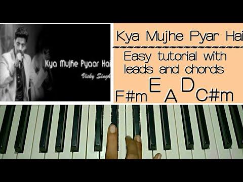 Kya Mujhe Pyaar Hai - Easy Piano Tutorial Step by step | Vicky Singh | Woh Lamhe