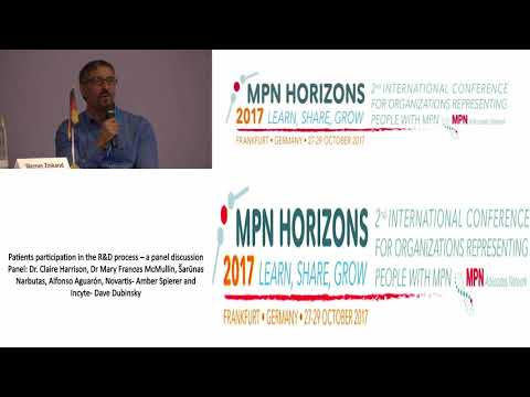 Patients participation in the R&D process – a panel discussion MPN Horizons 2017