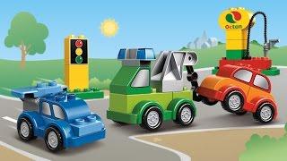 Мультфильмы про транспорт и про машинки в городе . Видео для детей