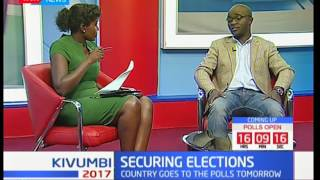 Studio interview with Security expert Richard Tuta: Securing the elections