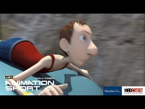 "CGI 3D Animated Short Film ""TAKE CONTROL"" Traffic Awareness Animation by Sheridan"