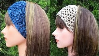 How To Crochet A Headband Pattern #127│by ThePatternFamily