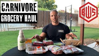 Carnivore Grocery Haul: 1 week of high quality food for less than $65 USD!