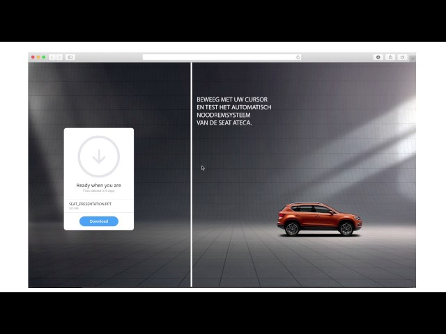 SEAT : FRONT ASSIST INTERACTIVE BANNER