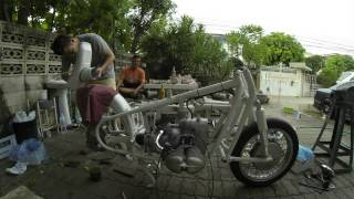 BMW R69S 1969 restoration: Day 1 (Bangkok, Thailand)
