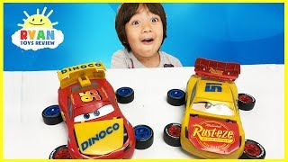 Disney Cars 3 Lightning McQueen And Cruz Ramirez Mix And Match Toy Car