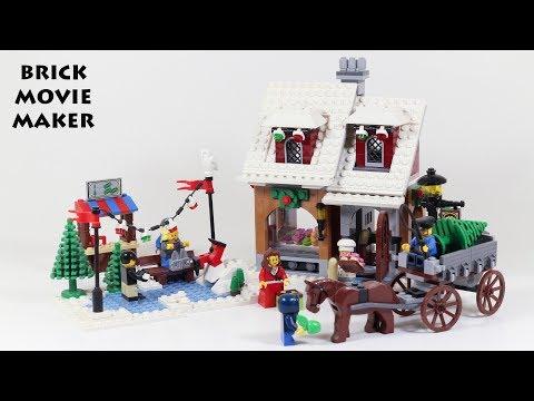LEGO NEUF scellé 10216 Winter Village Bakery la Boulangerie du village de Noel