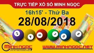 Xổ số Minh Ngọc™ Thứ Ba 28/08/2018 - Kênh chính thức từ Minhngoc.net.vn