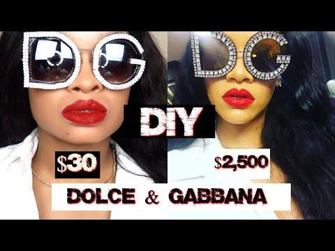 DIY RIHANNA INSTAGRAM DOLCE & GABBANA SUNGLASSES | CHEAP