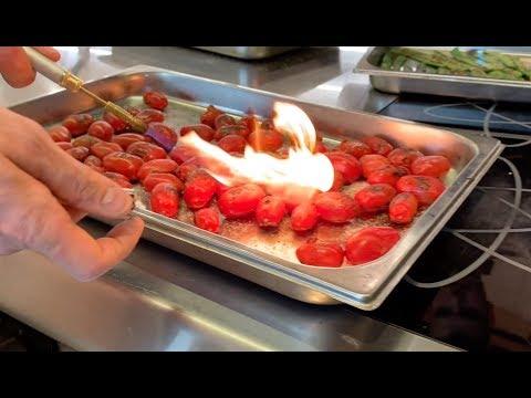 """Le verdure grigliate al """"sapore"""" di barbecue"""
