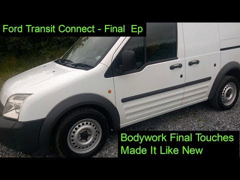 Respray rims, Sills & Bonnet - Final Episode, Ford Transit Connect project