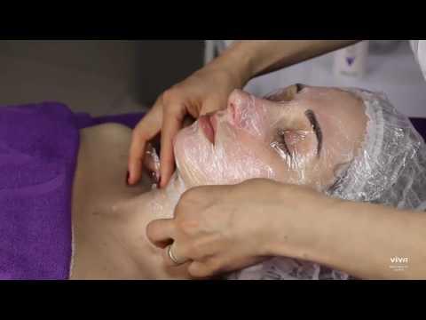Уход за кожей лица с альгинатной маской ТМ ARAVIA Professional