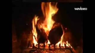 Marty Robbins - O Little Town Of Bethlehem (Fireplace)