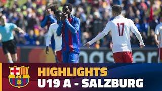 [HIGHLIGHTS] Under 19 A - Salzburg (1-2) UEFA Youth League Semifinals