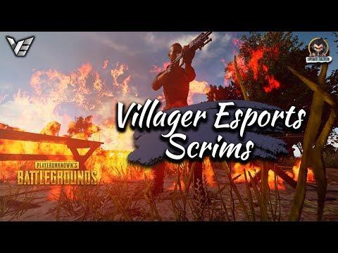 Villager Esports Scrims • Pubg Mobile • Ft - Brawl, ORE, GodL, Entity etc
