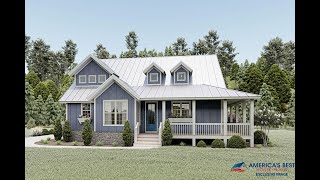 COUNTRY HOUSE PLAN 940-00072 WITH INTERIOR