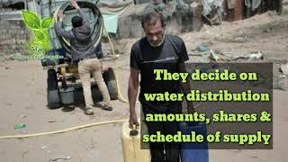 Depriving Palestinians their water…