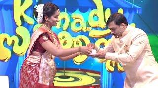 Komady Circus |  Sudheer & Ambily Soman - Njanummelkkali | Mazhavil Manorama